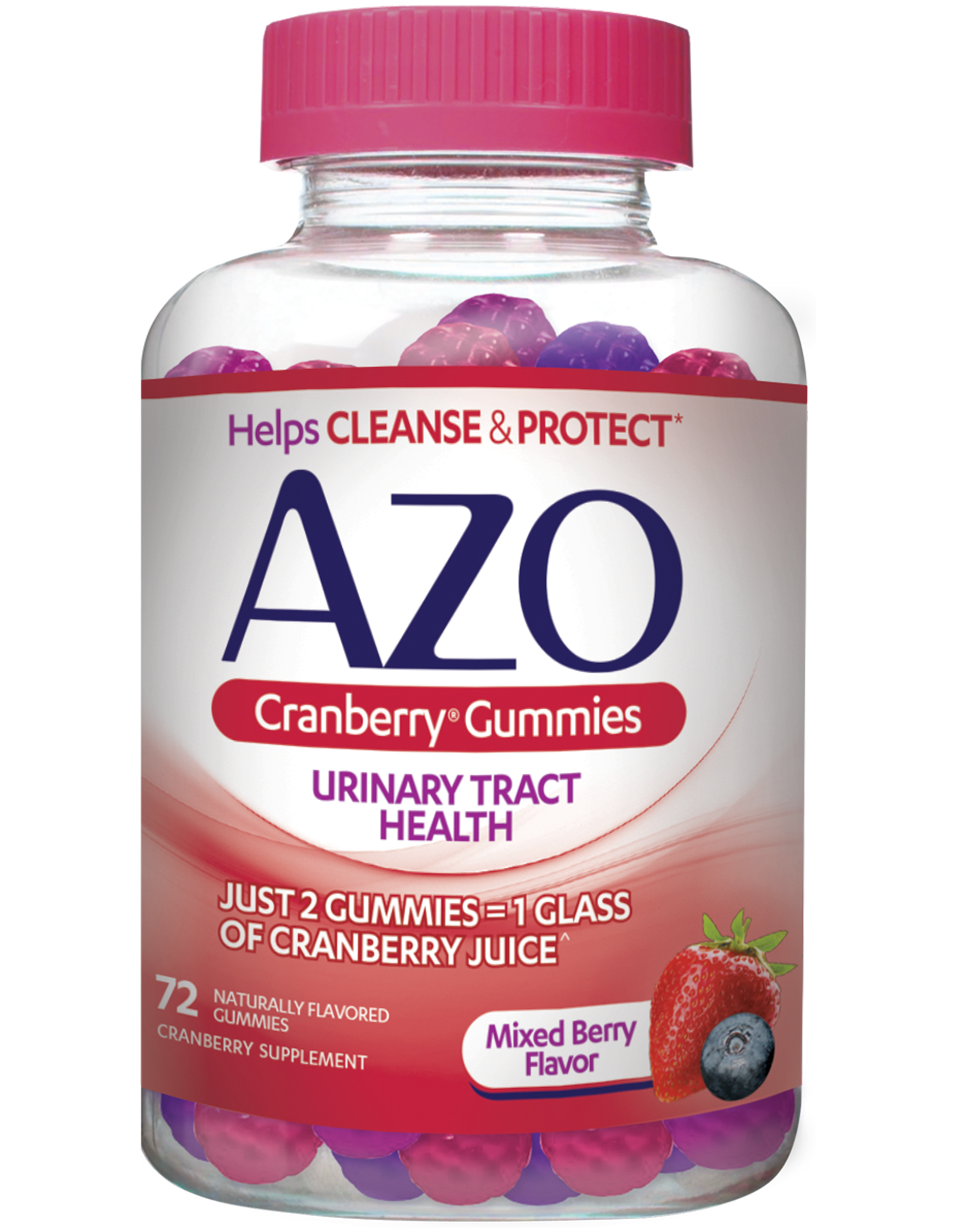 azo cranberry® gummies help to maintain your urinary health*