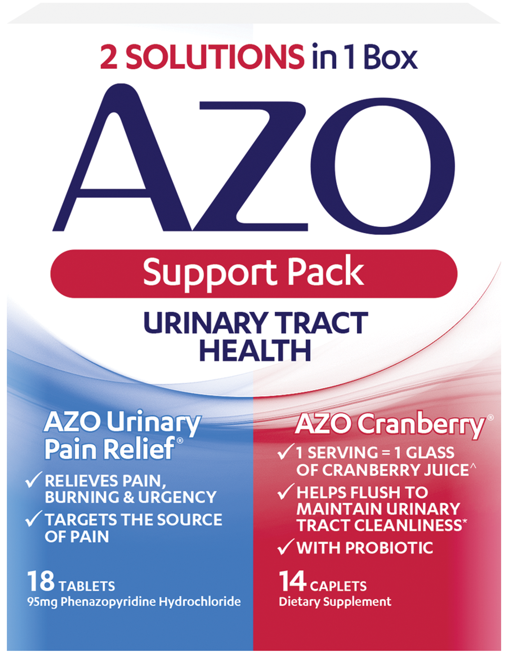 Our AZO Urinary Tract Health Pack Offers Relief & Support