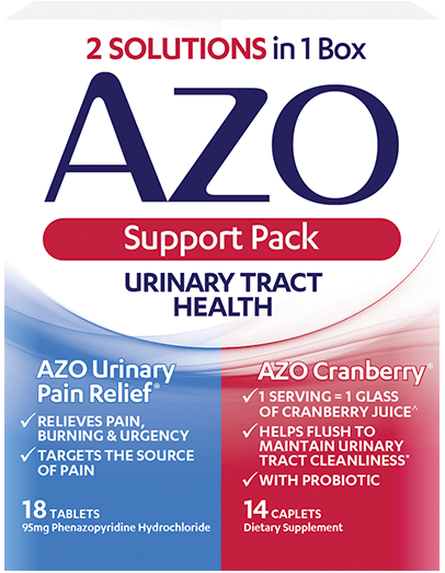 AZO Urinary Tract Health Support Pack