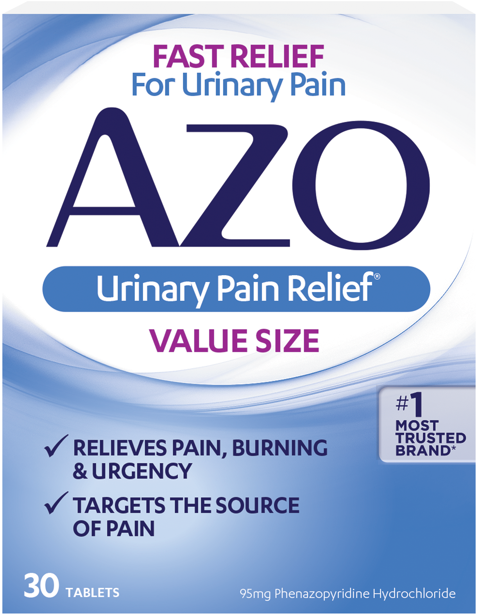 Azo Urinary Pain Relief 1 Most Trusted Brand For Uti Pain
