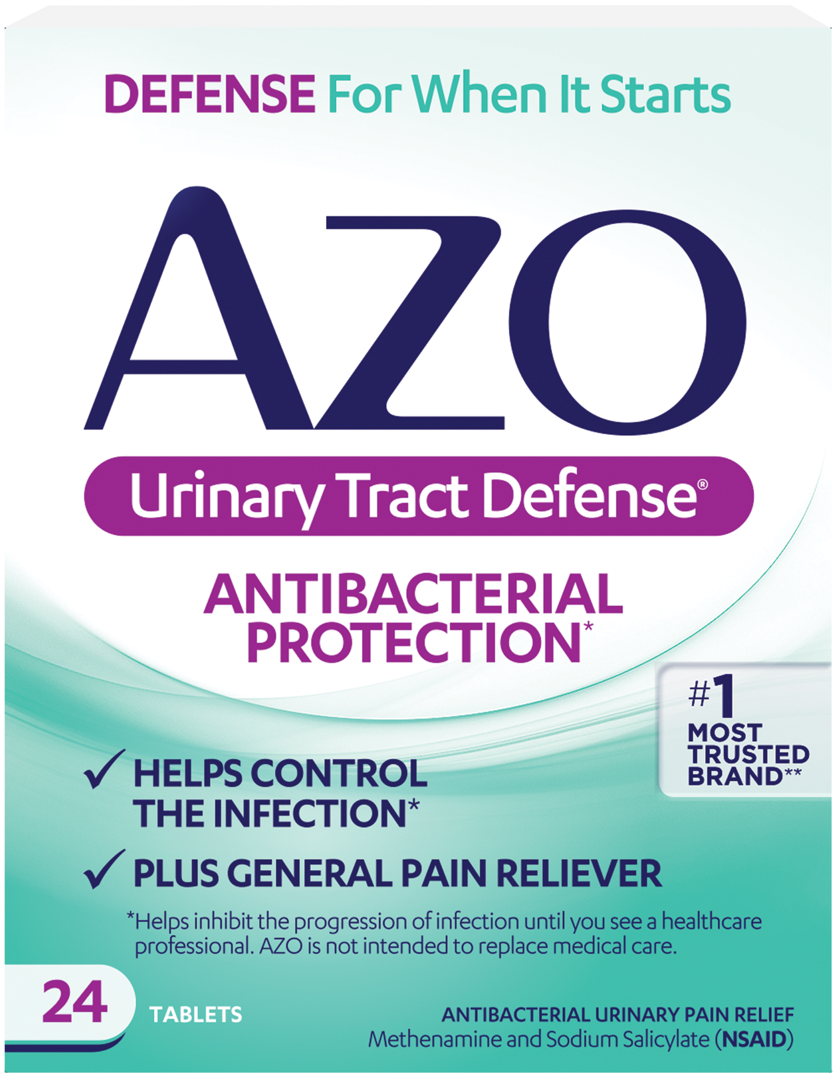 AZO Urinary Tract Defense® Keeps Your UTI From Progressing