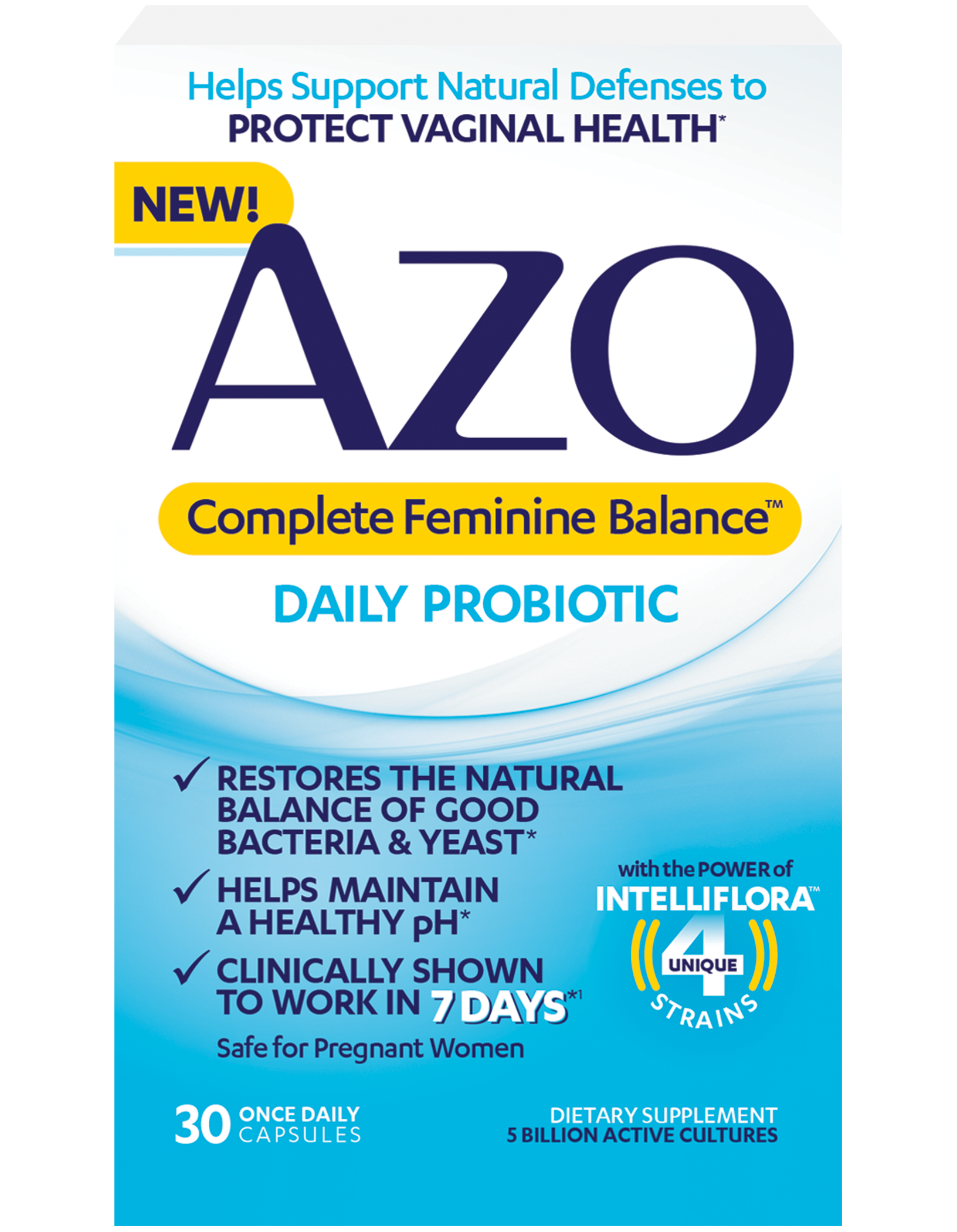 Azo Probiotics For Women Support Your Vaginal Health-4607