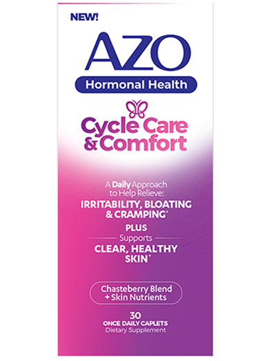 AZO Hormonal Health Cycle Care & Comfort™