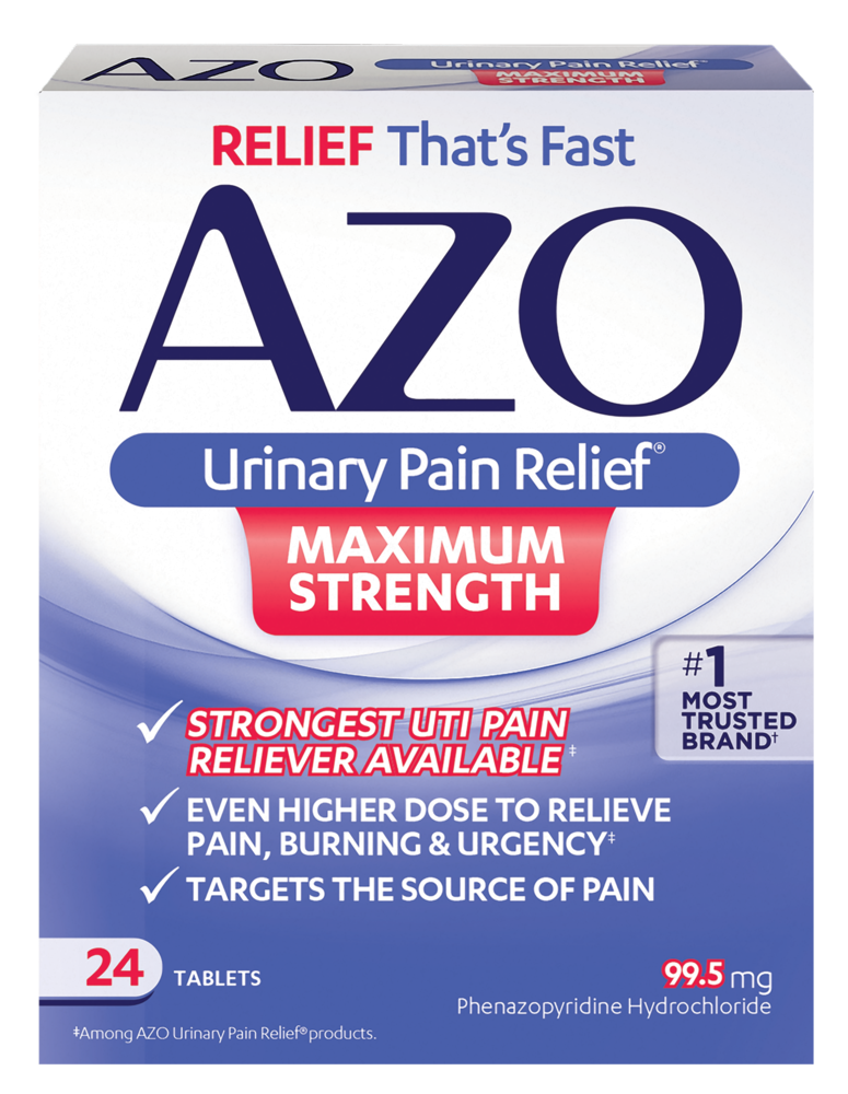 AZO Maximum Strength | Let Us Help Ease Your UTI Pain