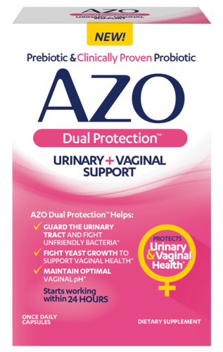 AZO Dual Protection front of package