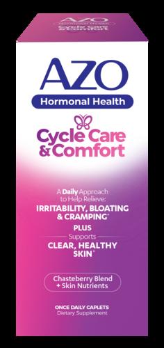 AZO Hormonal Health Cycle Care & Comfort™
