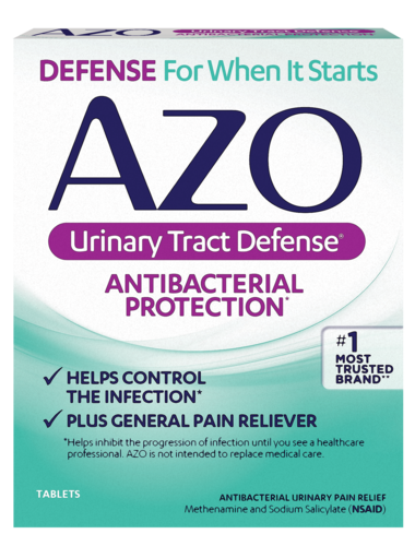 AZO Urinary Tract Defense front of package