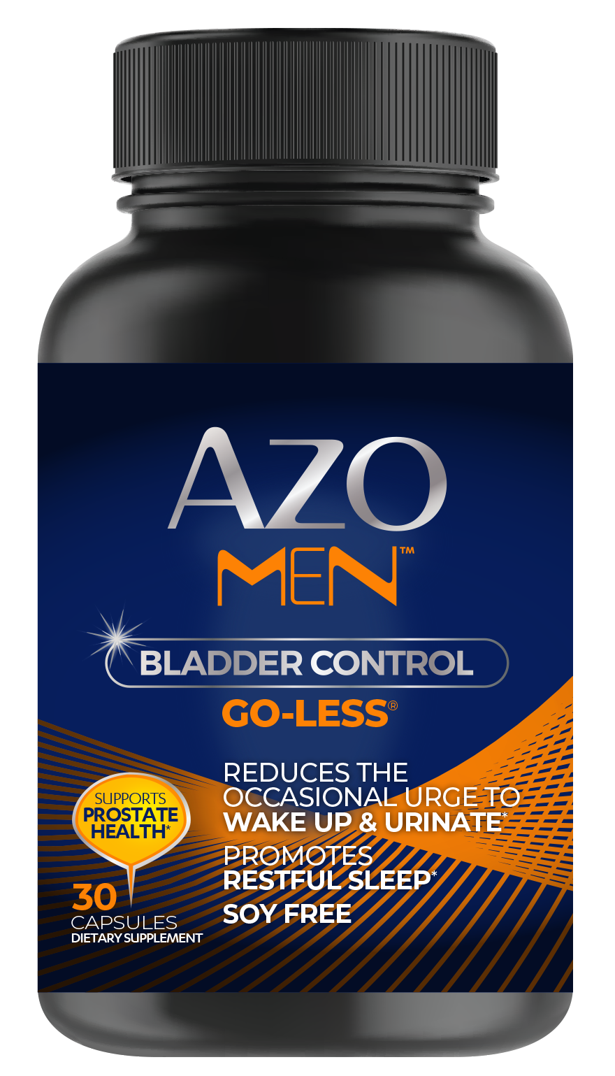 AZO MENTM Bladder Control with Go-Less® MEN front of Package