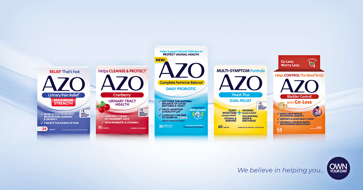 Azo Yeast Plus Helps To Relieve Symptoms Of Vaginal Infection