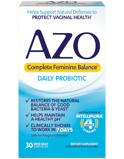 AZO Complete Feminine Balance Daily Probiotic