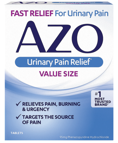 AZO Urinary Pain Relief