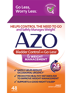 AZO Bladder Control & Weight Management