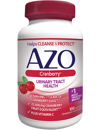 AZO Cranberry Softgels