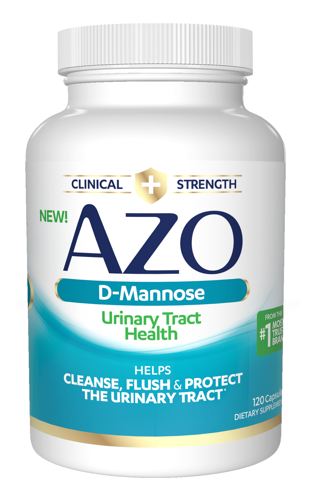 AZO D-Mannose front of bottle
