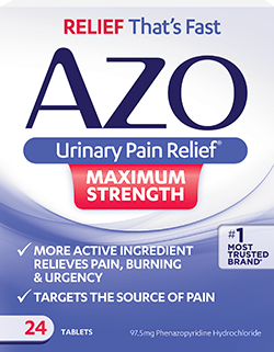AZO Urinary Pain Relief Maximum Strength
