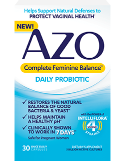 Probiotics For Vaginal Health Help Restore Balance
